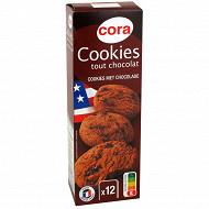 Cora cookies tout chocolat 200g