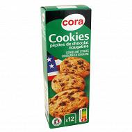 Cora cookies pépites de chocolat nougatine 200g