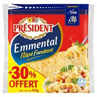 Emmental président rapé 350g + 30% offert