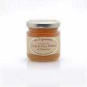 Confit de poires williams au Sauterne 100g