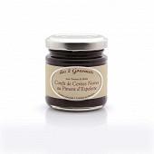 Confit de cerises noires au piment d'espelette 100g