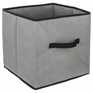 Boite rangement pliable gris