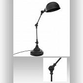 Lampe arc basalt h55