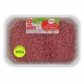 Viande hachée vrac Cora 15% 600g