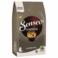 Senseo cafe dosettes classique x54 375g