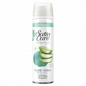 Gillette Satin Care Aloe Vera Whirl Gel A Raser peau sensible 200 ml