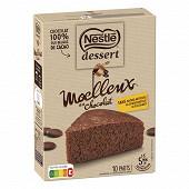 Nestle dessert préparation pour moelleux au chocolat 344g
