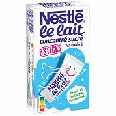 Nestlé Lait concentré sucré à pâtisser 6 sticks de 30g