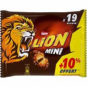 Nestlé lion mini 350g + 10% offert