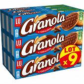 Granola biscuits chocolat au lait lot x9 1.8kg