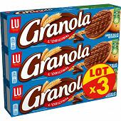 Granola chocolat au lait lot x3 600g