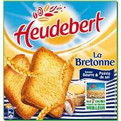 Lu heudebert biscotte la bretonne sel de guérande 290g