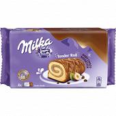 Milka Tender roll noisettes 148g