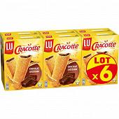 Lu cracotte chocolat x6 1200 g
