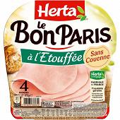 Herta le bon Paris sans couenne 4 tranches 170g
