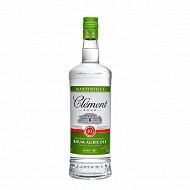 Clément rhum blanc agricole AOC Martinique 1L 50%vol