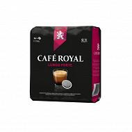 Café Royal dosettes souples lungo forte type senséo x36 250g