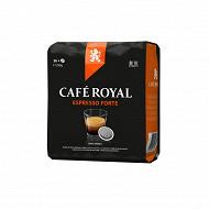 Café Royal dosettes souples ristretto x36 250g