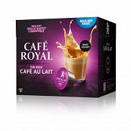 Café Royal compatibles dolce gusto café au lait x16 154g