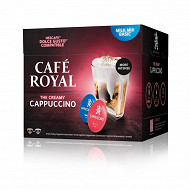 Café Royal capsules cappuccino type dolce gusto x16 170g