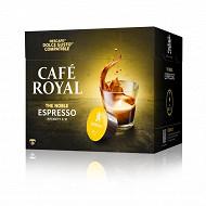 Café Royal  capsules espresso type dolce gusto x16 96g