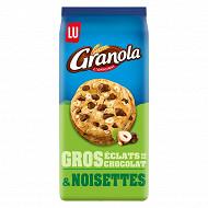 Granola extra cookies chocolat et noisettes 184g