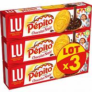 Pepito chocolat noir 192g lot x3