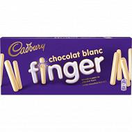 Cadbury finger chocolat blanc 138g
