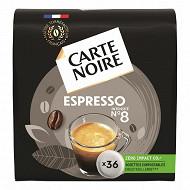 Carte Noire espresso classic n°8 type senséo x36
