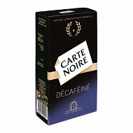 Carte Noire café moulu décaféiné 250g