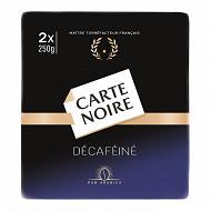 Carte Noire café moulu décaféiné 2x250g