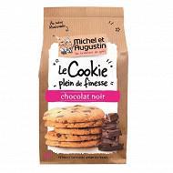 Michel et Augustin le cookie super fin et crousti choco noir 140g