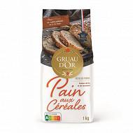 Gruau d'or préparation pour pain aux céréales 1kg