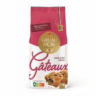 Gruau d'or farine de blé spéciale gâteaux 1kg