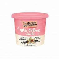 Michel & Augustin coeur de crème à la vanille de Madagascar 400g