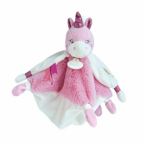 Doudou licorne rose Baby Nat