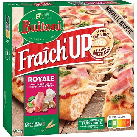 BUITONI FRAICH'UP pizza surgelée Royale 600g