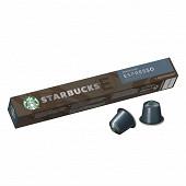 Starbucks by Nespresso espresso roast capsules café torréfaction brune x10