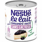 Nestlé Lait concentré sucré sans lactose à pâtisser 387g