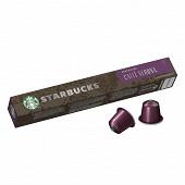Starbucks by Nespresso - Verona, capsule café torrefaction brune x10