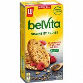 Belvita framboise & graines de chia 270g