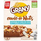 Grany envie de nuts noix de coco 120g