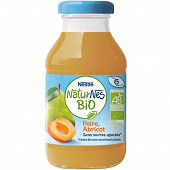 Nestlé Naturnes Bio Jus poire abricot dès 6 mois 200ml