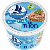 Petit Navire rillettes de thon 220g