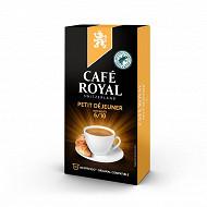 Café Royal capsules aluminium petit déjeuner type nespresso x10 52g