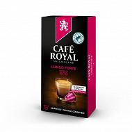 Café Royal capsules aluminium lungo forte x10 52g