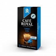Café Royal capsules aluminium lungo type nespresso x10 52g