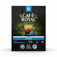 Café Royal capsules aluminium lungo type nespresso x36 190g
