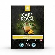Café Royal capsules aluminium espresso type nespresso x36 190g
