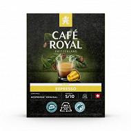 Café Royal capsules aluminium espresso type nespresso x18 93g